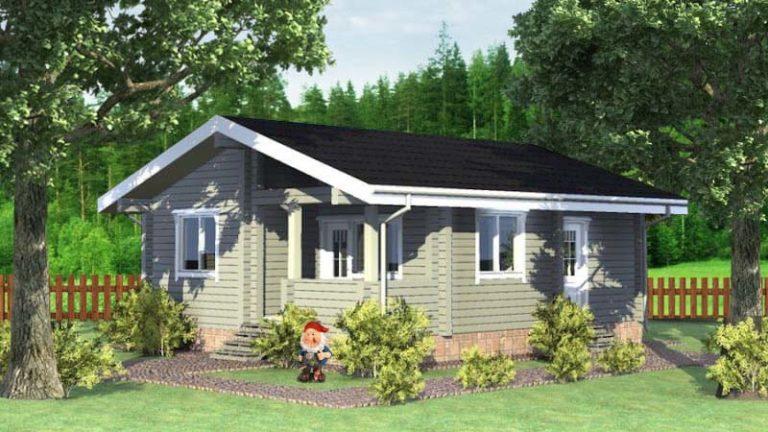 Дачный загородный дом